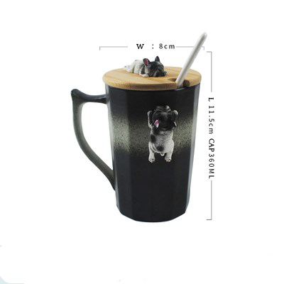 3D Dog Coffee Mugs