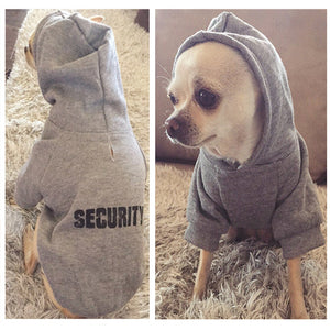 Dog Security Hoodies