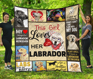 THIS GIRL LOVES HER LABRADOR