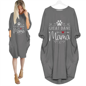 Great Dane Mama Batwing Pocket Dress