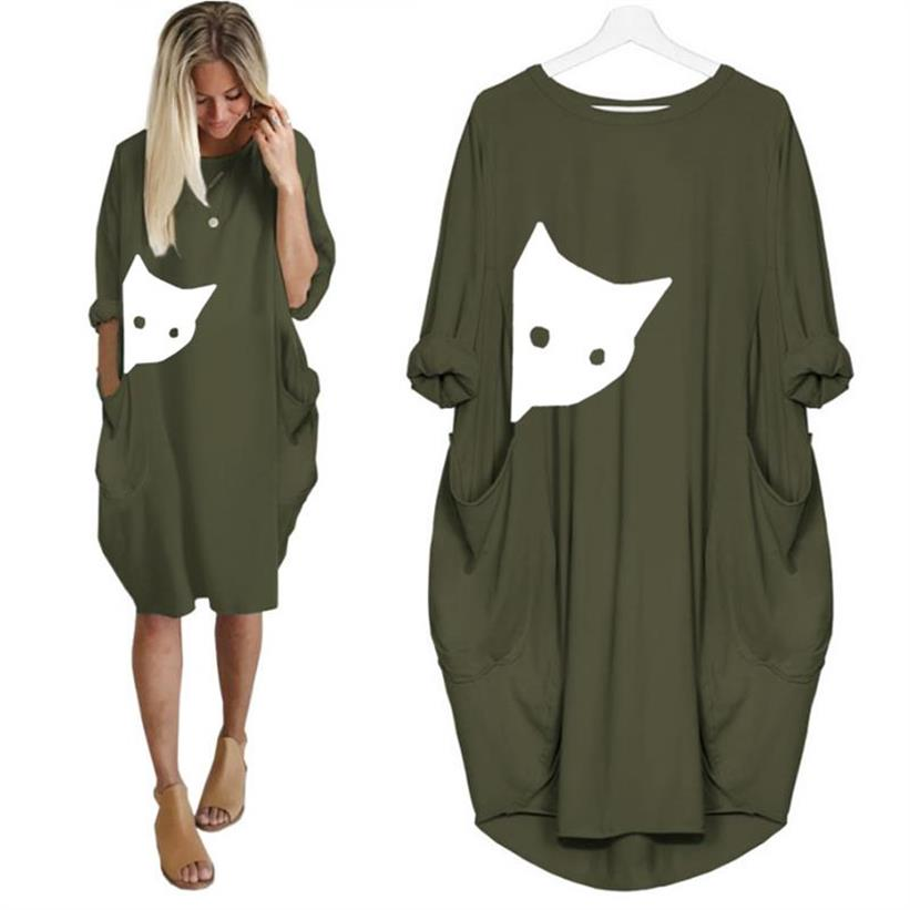 Summer Dress - Cute Cat Design
