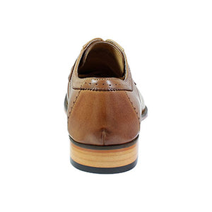Sanborn Perfed Cap Toe Oxford - Tan
