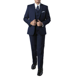 Tazio Navy Formal Classic Fit Suits For Boys