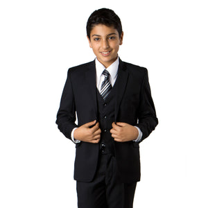 Black Suit For Boys Formal Suits For All Ocassions B358-01