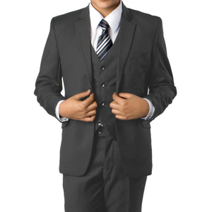 Grey Suit For Boys Formal Suits For All Ocassions B358-03