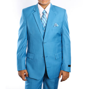 Tazio French Blue Formal Suits For Boys