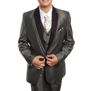 Tazio Taupe Formal Suits For Boys