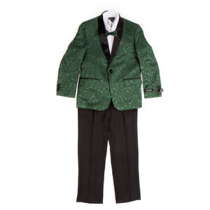 Tazio Green / Black Formal Suits For Boys