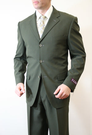 Olive Suit For Men Formal Suits For All Ocassions M069-05