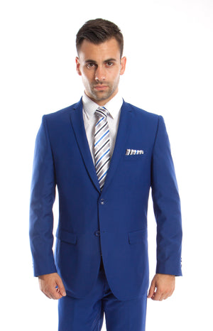 Royal Blue Suit For Men Formal Suits For All Ocassions M085S-12