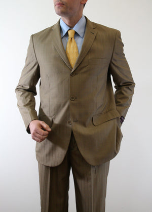 New Gold Suit For Men Formal Suits For All Ocassions M111-03