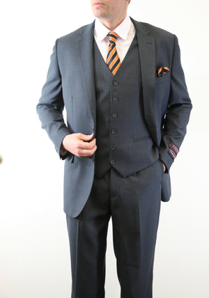Navy Suit For Men Formal Suits For All Ocassions M164-02