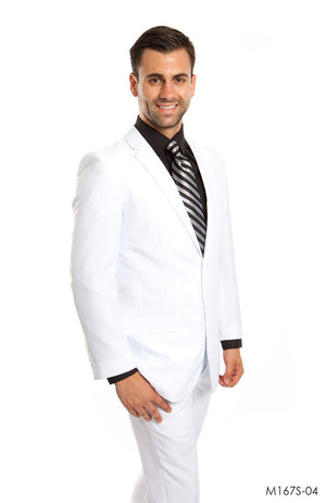 White Suit For Men Formal Suits For All Ocassions M167S-04