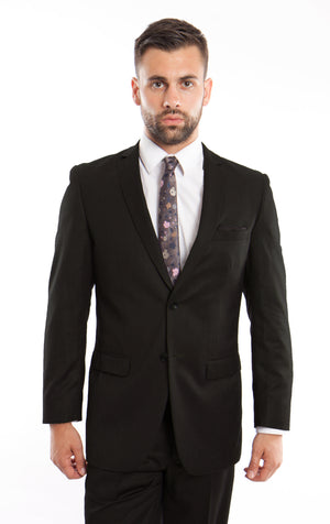 Black Suit For Men Formal Suits For All Ocassions M208S-01