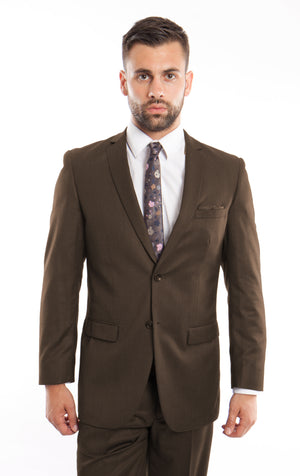 Brown Suit For Men Formal Suits For All Ocassions M208S-04