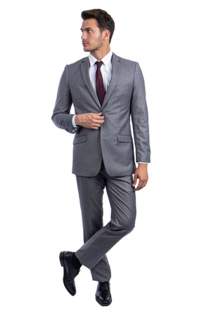 Mid Grey Suit For Men Formal Suits For All Ocassions
