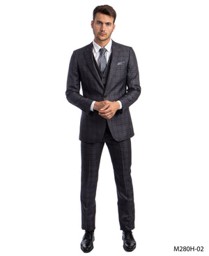 Dk. Gray Suit For Men Formal Suits For All Ocassions