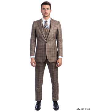 Mocha Suit For Men Formal Suits For All Ocassions