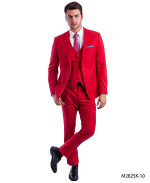Red Suit For Men Formal Suits For All Ocassions