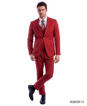 Brick Suit For Men Formal Suits For All Ocassions