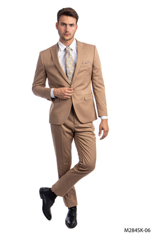 Dk.Taupe Suit For Men Formal Suits For All Ocassions