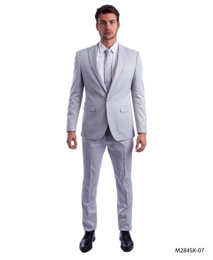 Lt.Gray Suit For Men Formal Suits For All Ocassions