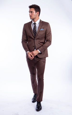 Brown Suit For Men Formal Suits For All Ocassions