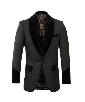 Empire Shawl Collar Hybrid/Slim Fit Blazer Jacket ME232