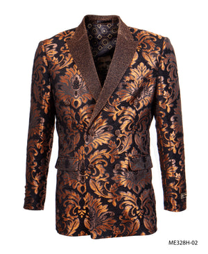 Rust Empire Show Blazers Formal Dinner Suit Jackets For Men ME328H-02