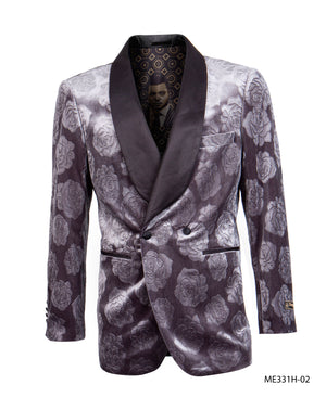 Charcoal Empire Show Blazers Formal Dinner Suit Jackets For Men ME331H-02