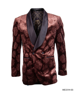 Rust Empire Show Blazers Formal Dinner Suit Jackets For Men ME331H-03