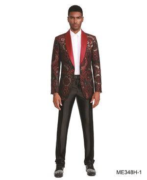 Red Empire Show Blazers Formal Dinner Suit Jackets For Men ME348H-01