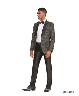 Black Empire Show Blazers Formal Dinner Suit Jackets For Men ME349H-02