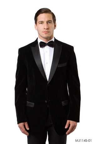 Black Jackets For Men Jacket Suits For All Ocassions MJ114S-01