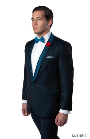 Blue Jackets For Men Jacket Suits For All Ocassions MJ118S-01