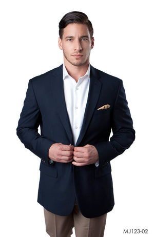 Navy Jackets For Men Jacket Suits For All Ocassions MJ123-02