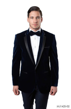 Navy Jackets For Men Jacket Suits For All Ocassions MJ142S-02