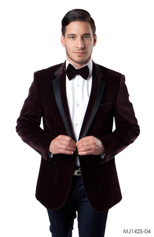 Dk Wine Jackets For Men Jacket Suits For All Ocassions MJ142S-04