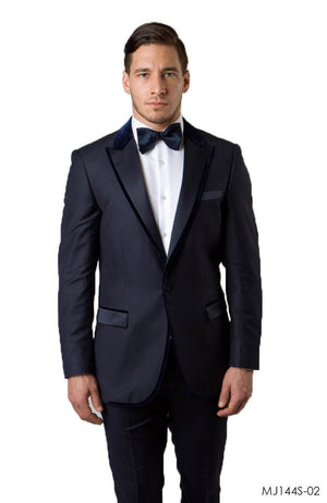 Navy Jackets For Men Jacket Suits For All Ocassions MJ144S-02