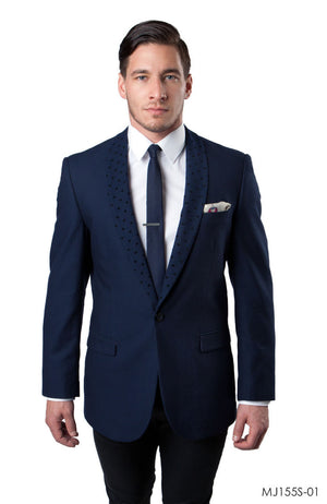 Navy Jackets For Men Jacket Suits For All Ocassions MJ155S-01