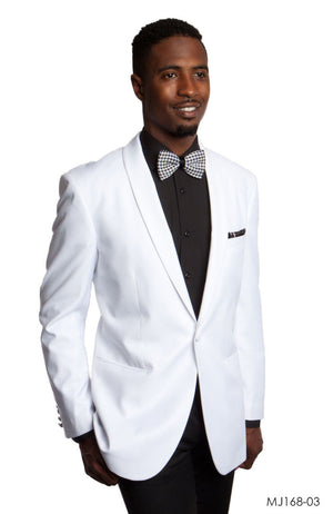 White Jackets For Men Jacket Suits For All Ocassions MJ168-03