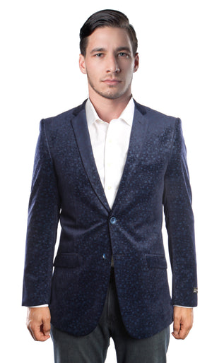 Slim Fit Mens Sports coat Blazer Jacket MJ177S
