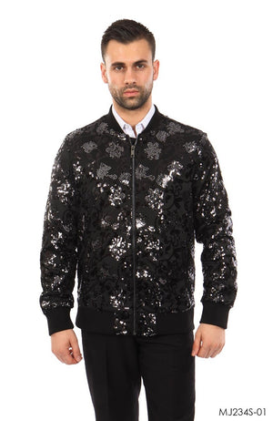 Black Jackets For Men Jacket Suits For All Ocassions MJ234S-01