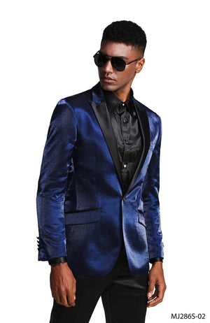 Blue Indigo Tazio Sports Coat Dinner Jackets