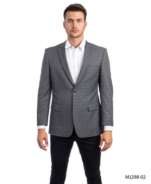 Black / Grey Tazio Sports Coat Dinner Jackets