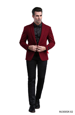 Wine Red Tazio Sports Coat Dinner Jackets
