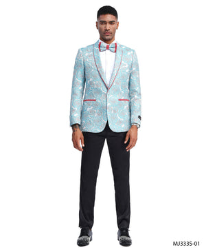 Blue Tazio Sports Coat Dinner Jackets
