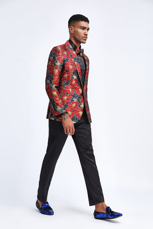 Red Tazio Sports Coat Dinner Jackets