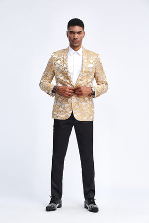 Gold Tazio Sports Coat Dinner Jackets