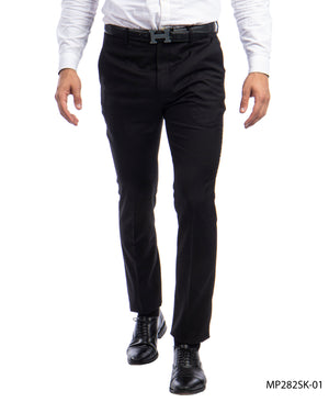 Sean Alexander Black Performance Stretch Dress Pants For Men